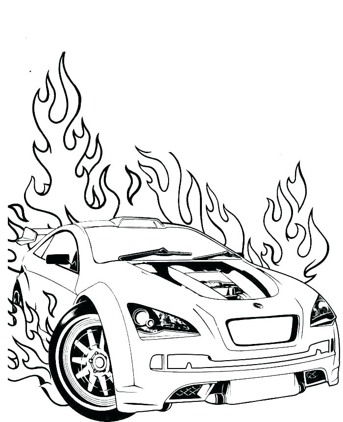 700x860 Printable Car Coloring Pages Small Car Coloring Pages Printable