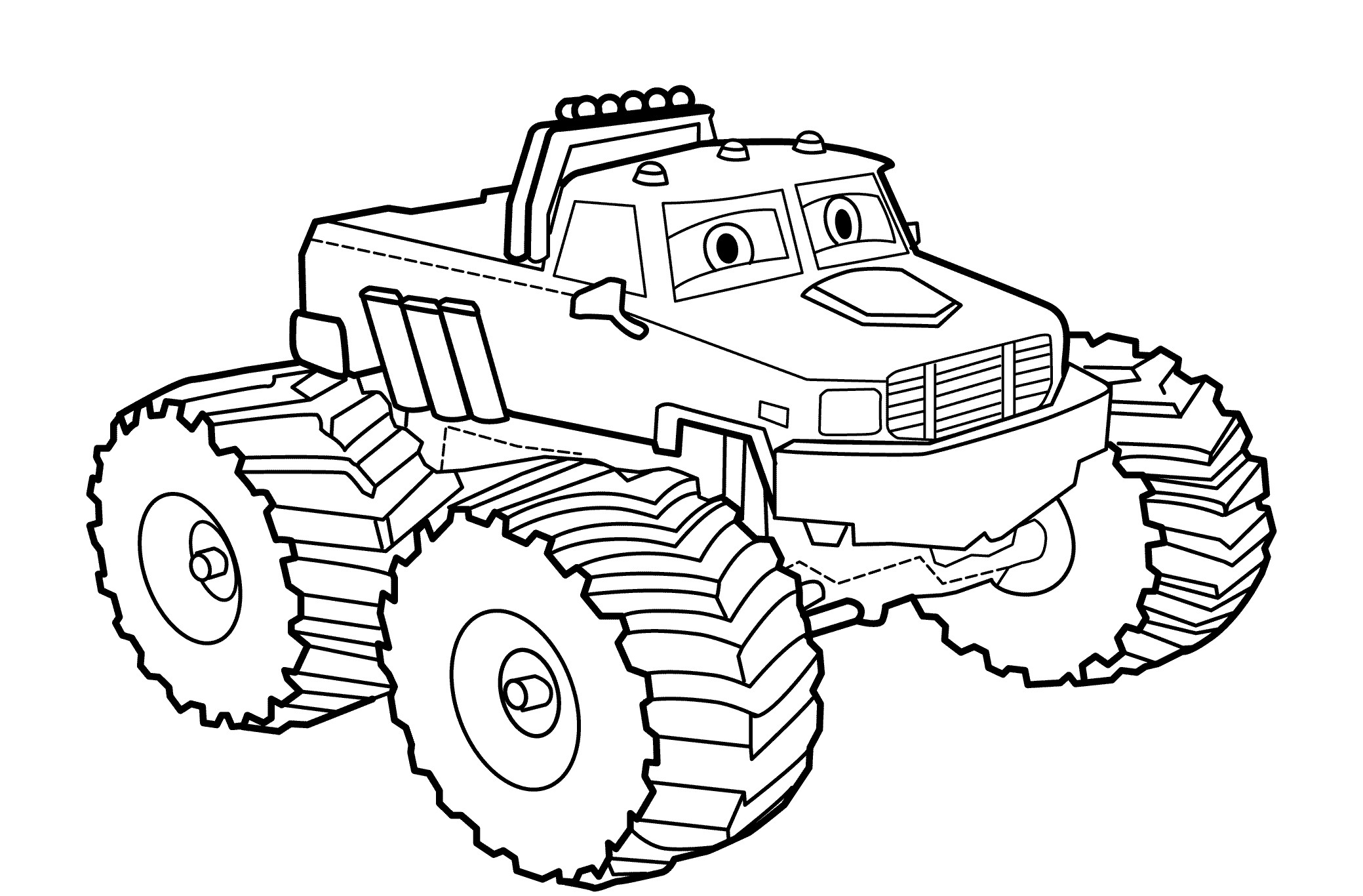 2079x1366 Small City Car Coloring Page For Kids Transportation Pages