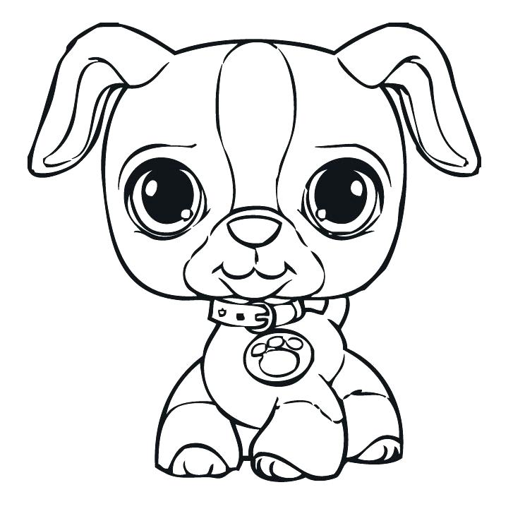 727x731 Doggie Coloring Pages Small Dog Coloring Pages Littlest Pet Shop