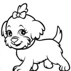 250x250 Small Dog Sleeping Coloring Page Free Dog Coloring Pages, Small