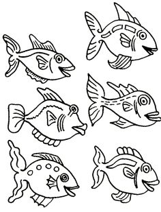 236x309 A Very Sweet Round Fish Coloring Pages