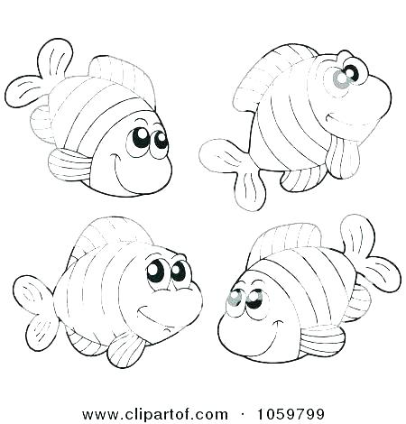 450x470 Fishing Coloring Pages Printable Fish Coloring Book Fish Coloring