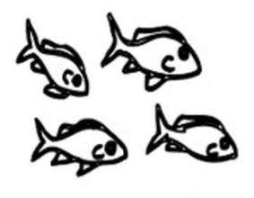 283x220 Small Fish Coloring Pages