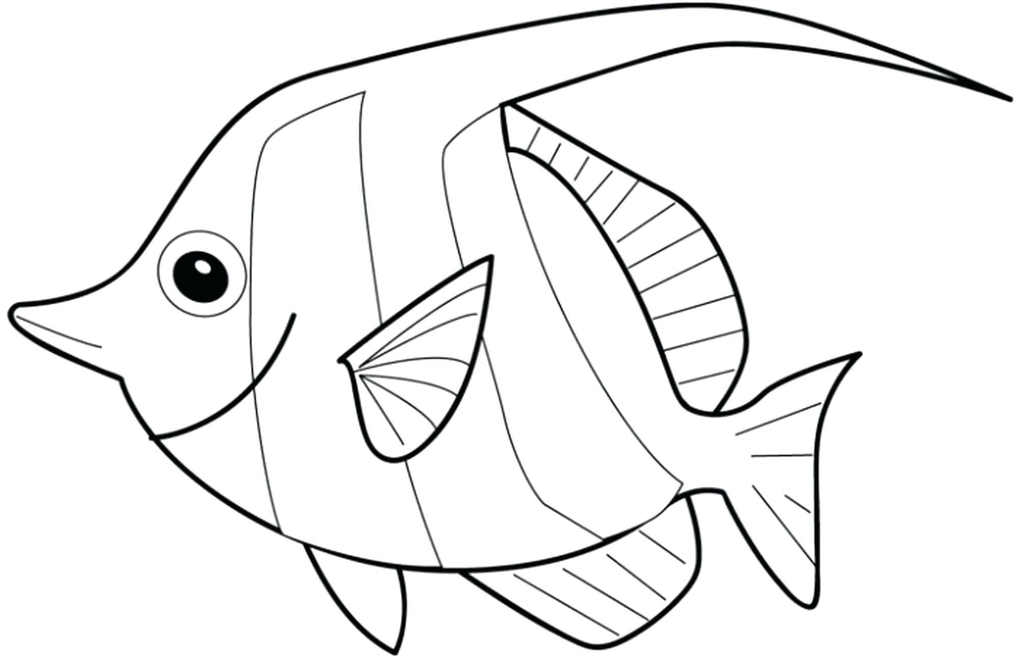 2000x1291 Small Fish Coloring Pages Coloring Pages Printable