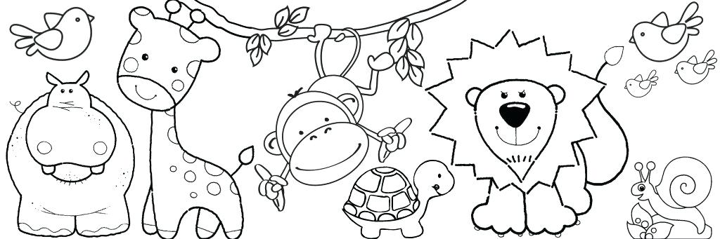 1024x341 Small Printable Coloring Pages Small Fish Coloring Pages Small