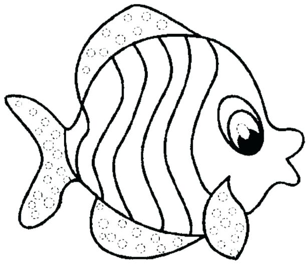 615x529 Free Coloring Pages Fish