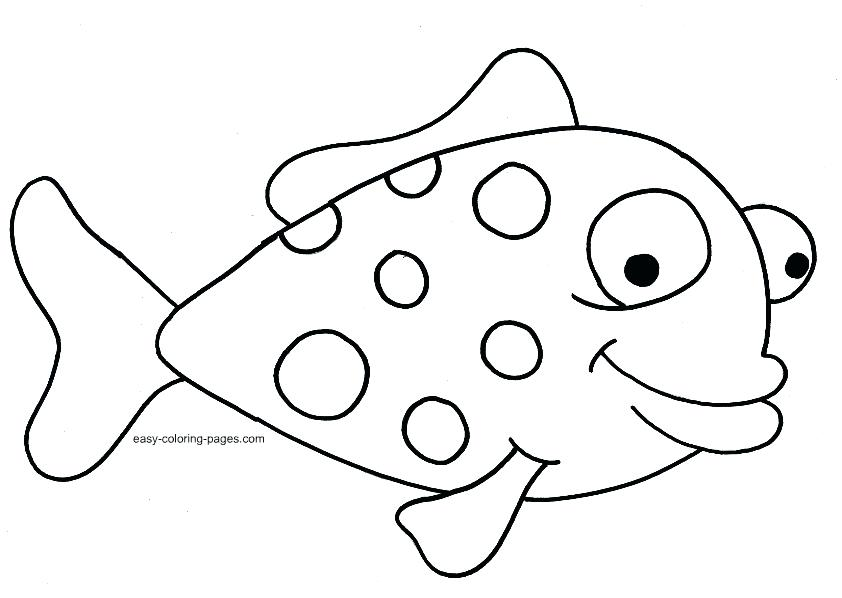 842x598 Fish Coloring Page Amazing Printable Fish Coloring Pages