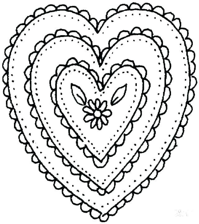 640x720 Broken Heart Coloring Pages Inspirational Heart Coloring Pages