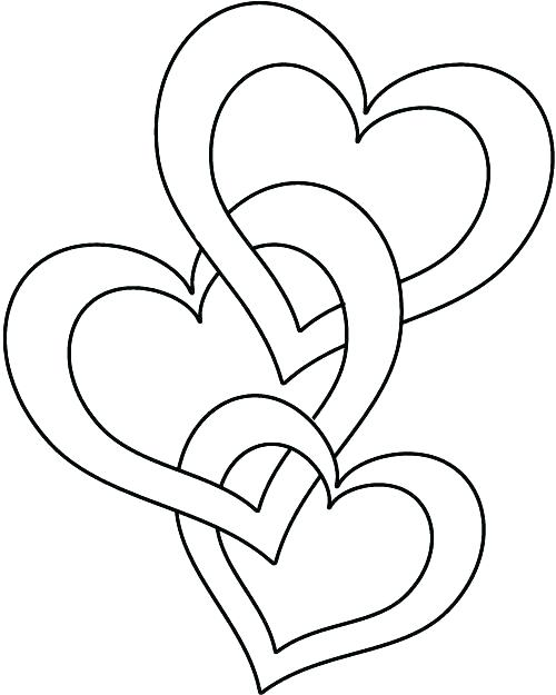 500x625 Valentine Coloring As Well As A Small Heart Coloring Pages Online