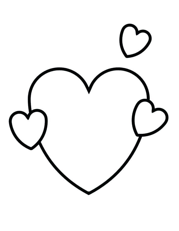 728x941 Valentine Hearts Coloring Pages Small Heart Coloring Pages