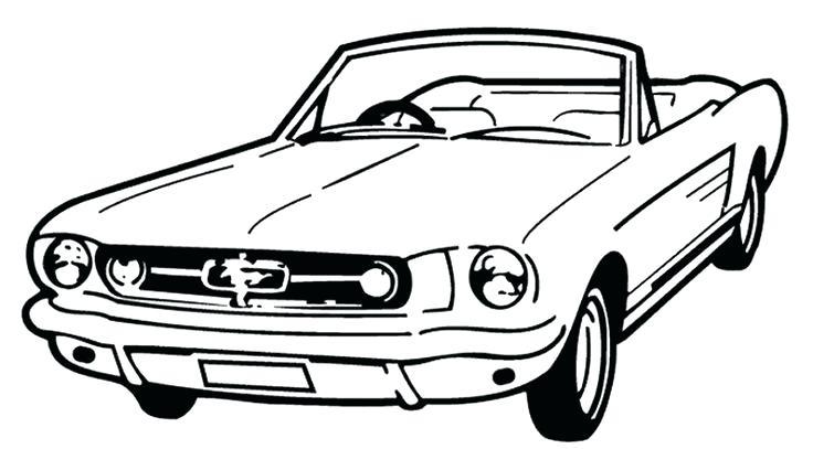 736x407 Mustang Car Coloring Pages Mustang Car Coloring Pages Mustang Car