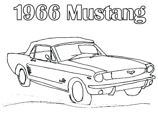 600x464 Mustang Coloring Pages Mustang Car Coloring Pages Mustang Coloring