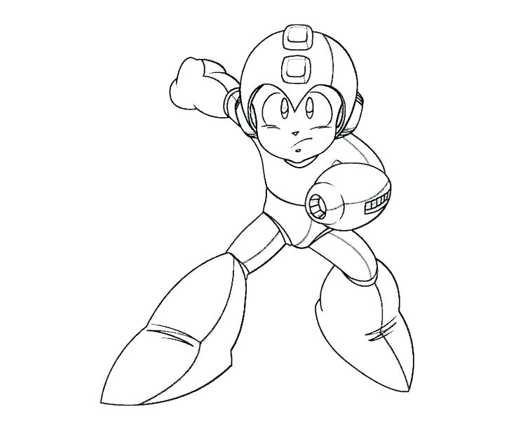 The Best Free Megaman Coloring Page Images Download From 18