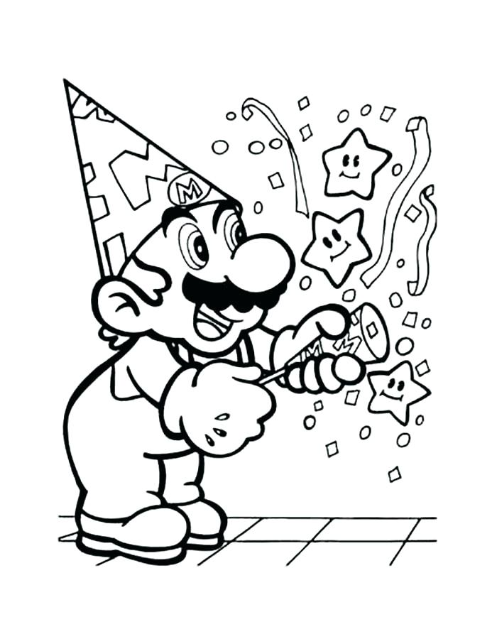 700x900 Super Mario Brothers Coloring Pages S Thers Super Mario Smash Bros