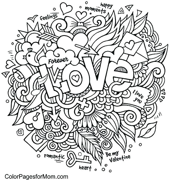 640x681 Heart Color Page Coloring Page Heart Color Page Heart Coloring