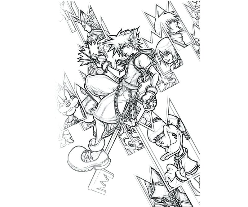 800x667 Smile Now Cry Later Coloring Pages Kingdom Hearts Page Spectacular