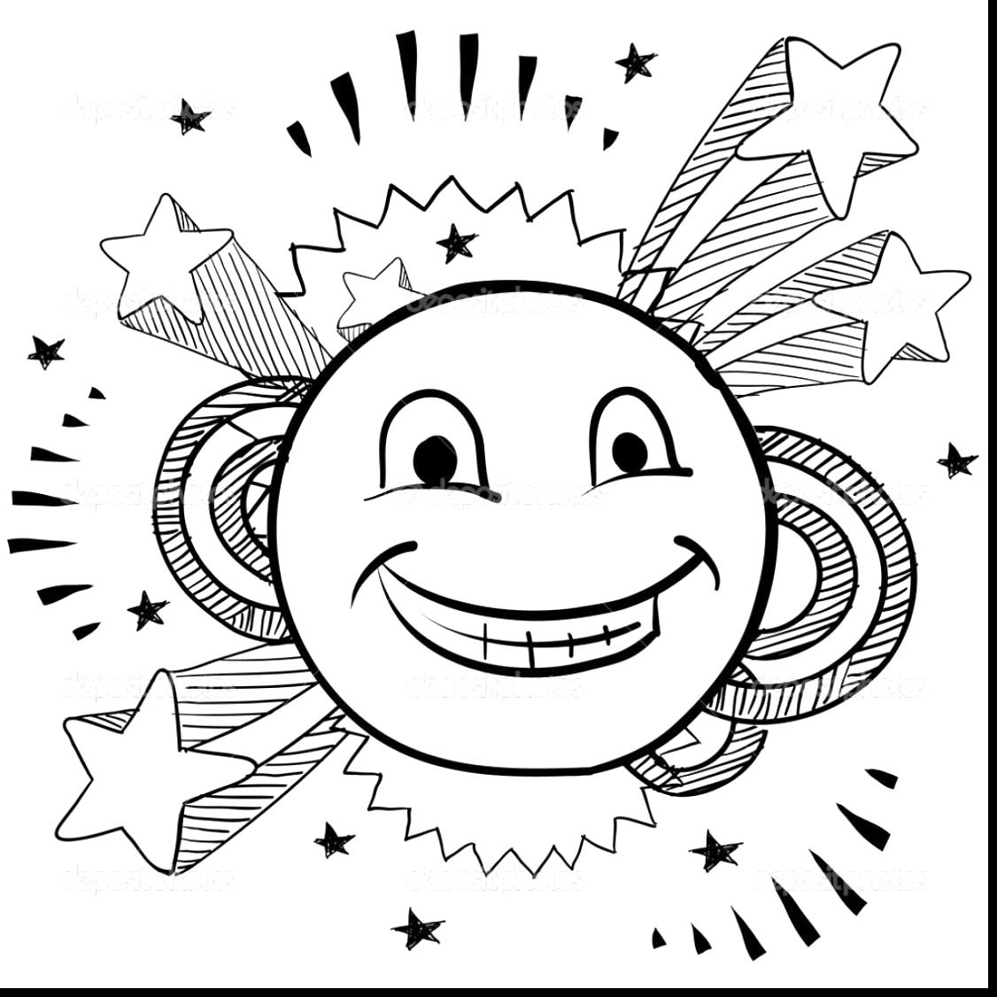1126x1126 Inspirational Smiley Face Coloring Page For Line Drawings