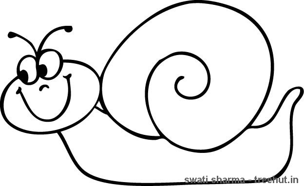 624x382 Snail Coloring Page Snail Coloring Page