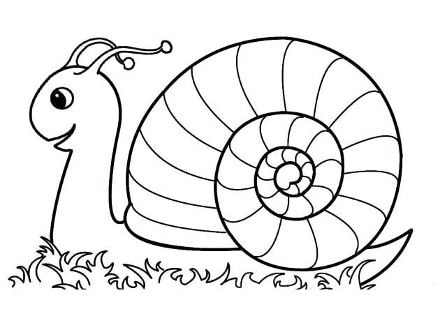 640x453 Snail Coloring Pages A Preschool Murs