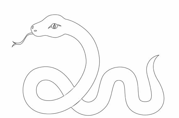 Snake Coloring Pages at GetDrawings.com | Free for personal ...