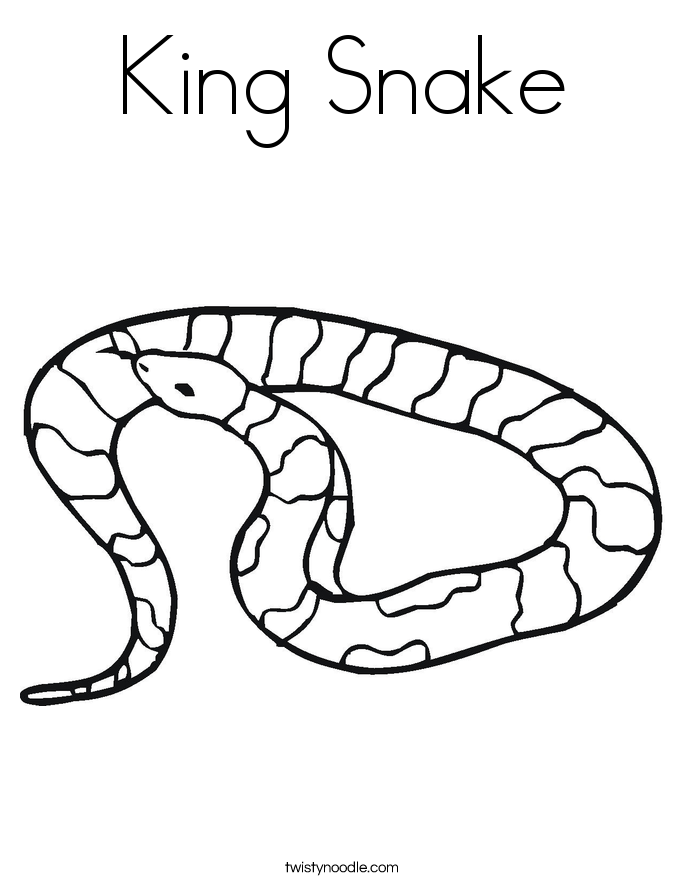 685x886 King Cobra Snake Coloring Pages Download And Print For Free