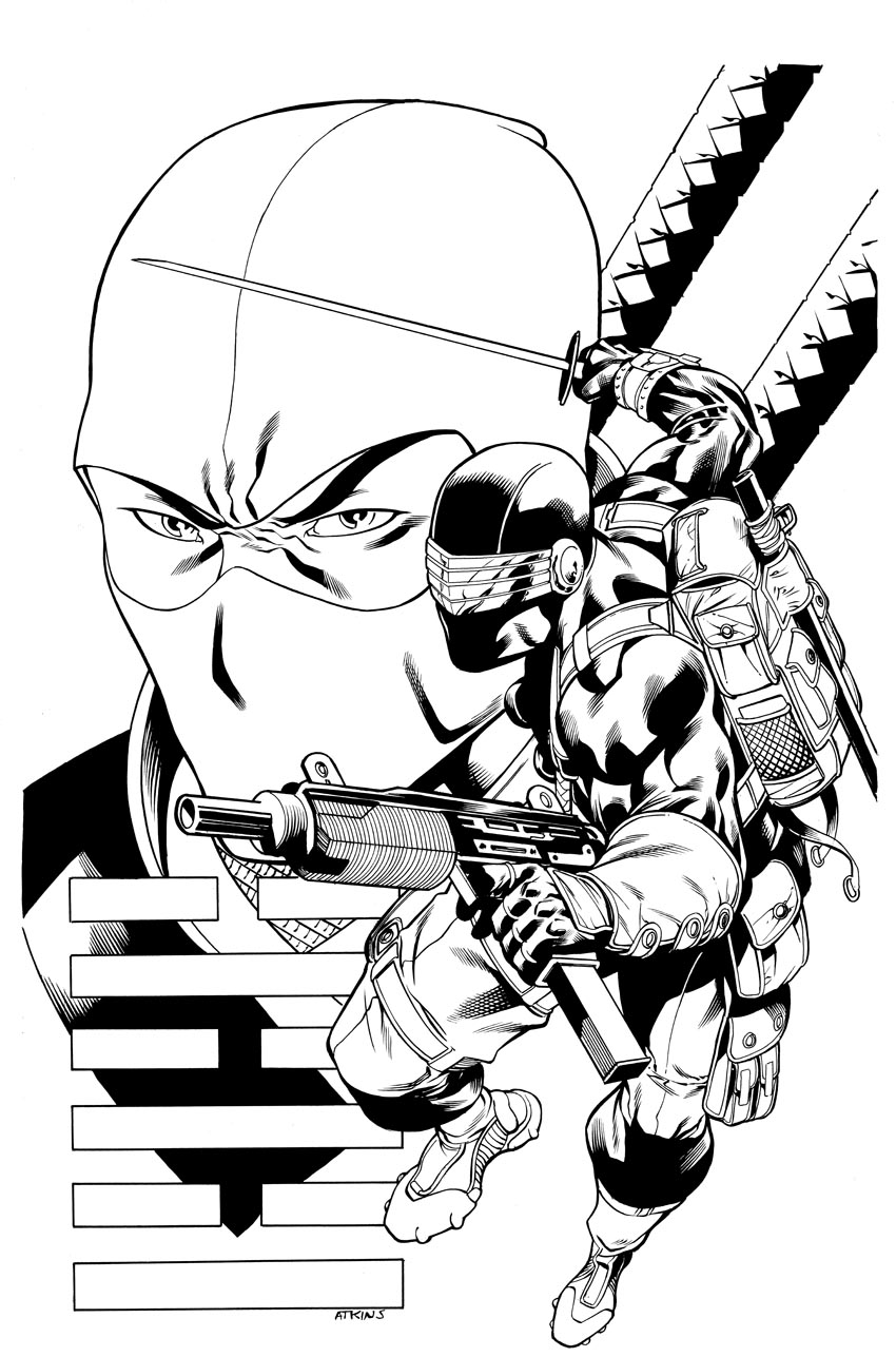 850x1287 Gi Joe Print Snake Eyes