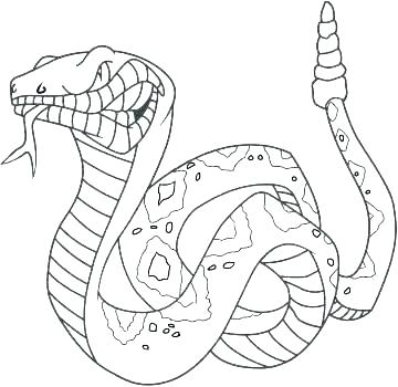 360x350 Snake Coloring Pages Coloring Page Snake Snake Coloring Pages