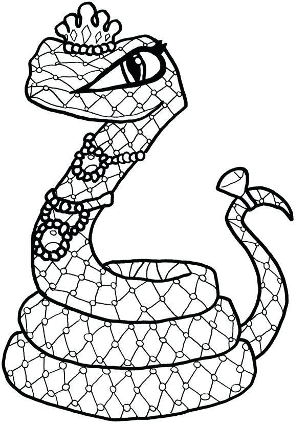 600x828 Snake Coloring Pages Snake Coloring Page Snake Eyes Coloring Pages
