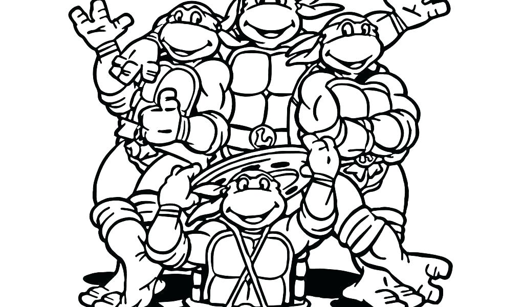 1024x600 Coloring Pages For Coloring Pages For Teenage Ninja Turtles