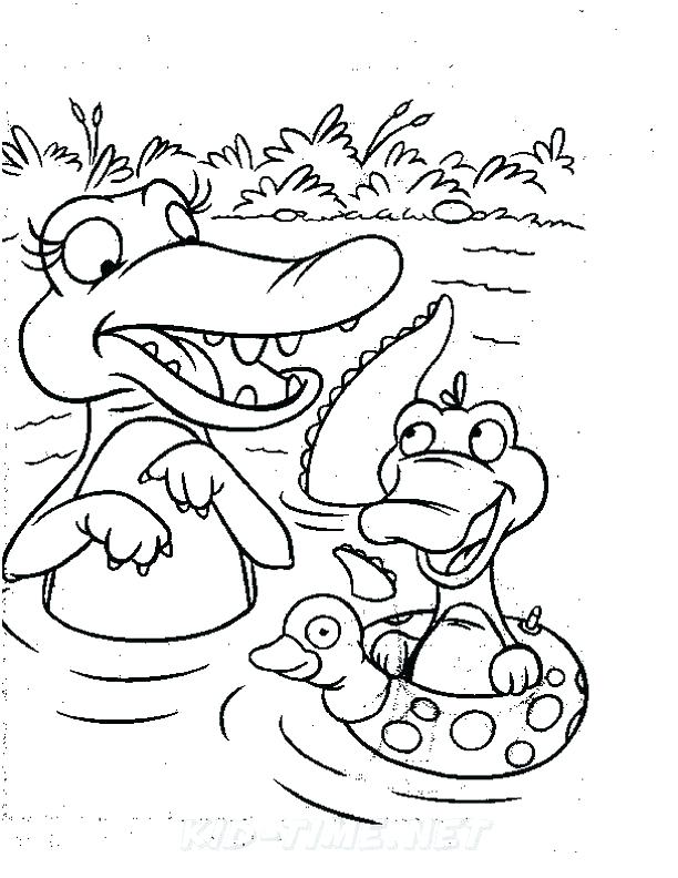 612x792 Alligator Coloring Pictures Baby Alligator Coloring Pages Book