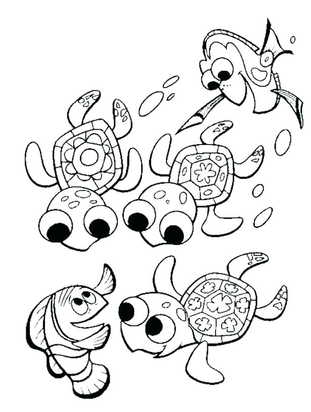 615x815 Turtle Coloring Pictures Floral Ornament Of Turtle Coloring Page