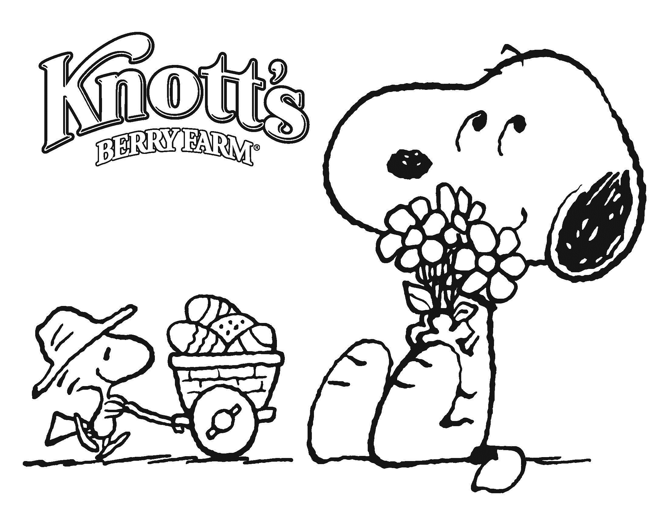 2200x1700 Snoopy Coloring Pages