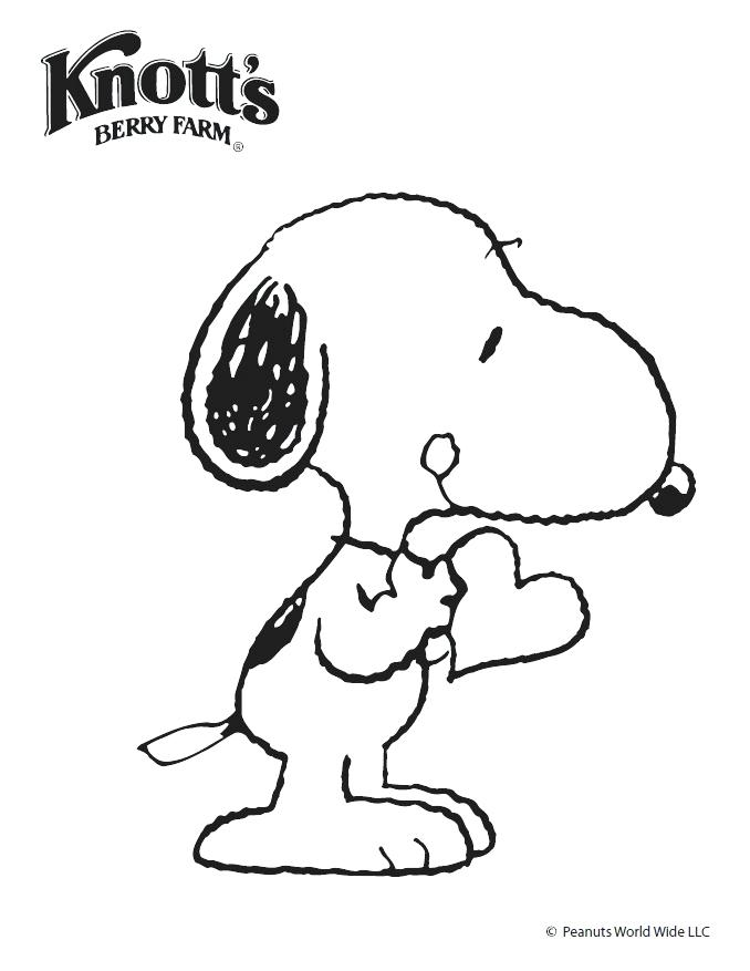 678x877 Snoopy Valentine Coloring Pages Snoopy And Woodstock Coloring
