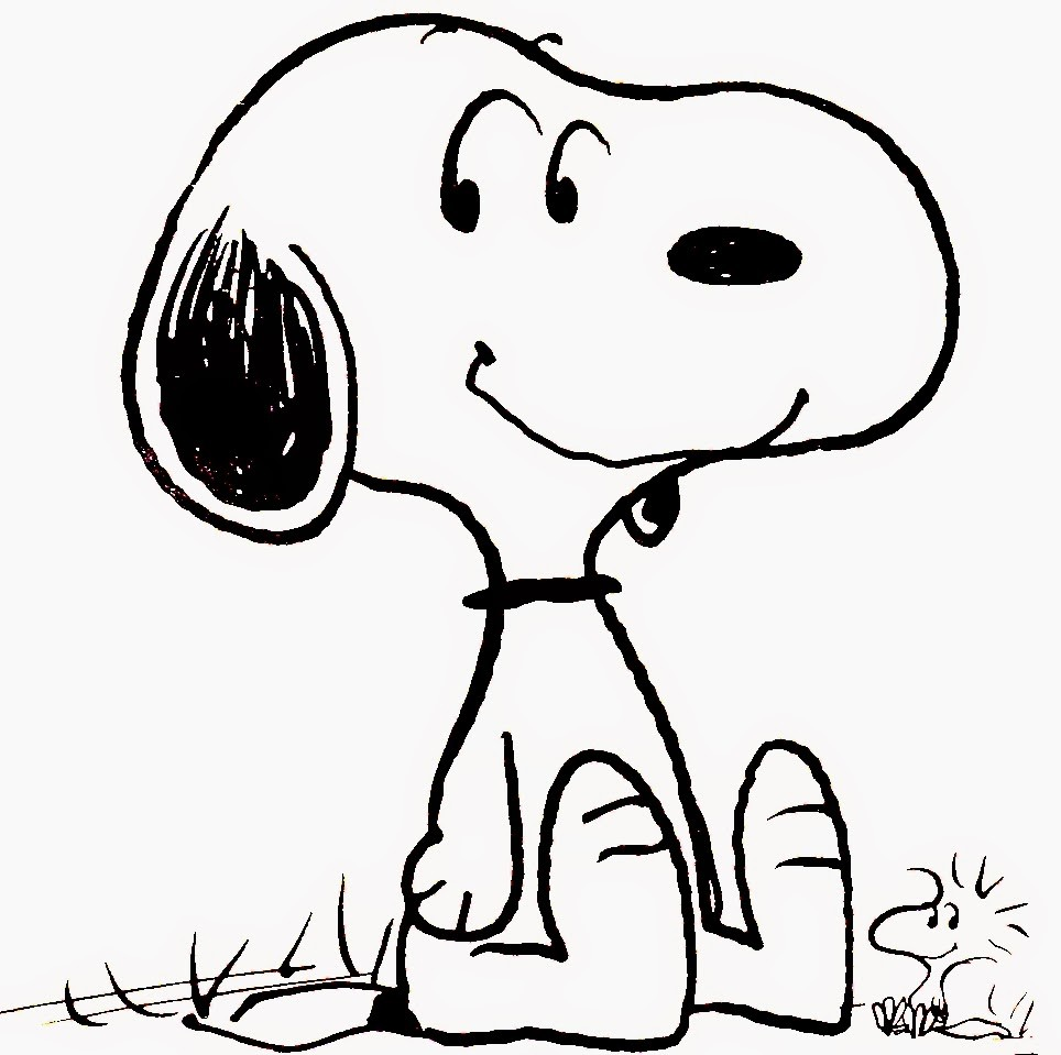 964x959 Printable Snoopy Coloring Pages Wecoloringpage Free New
