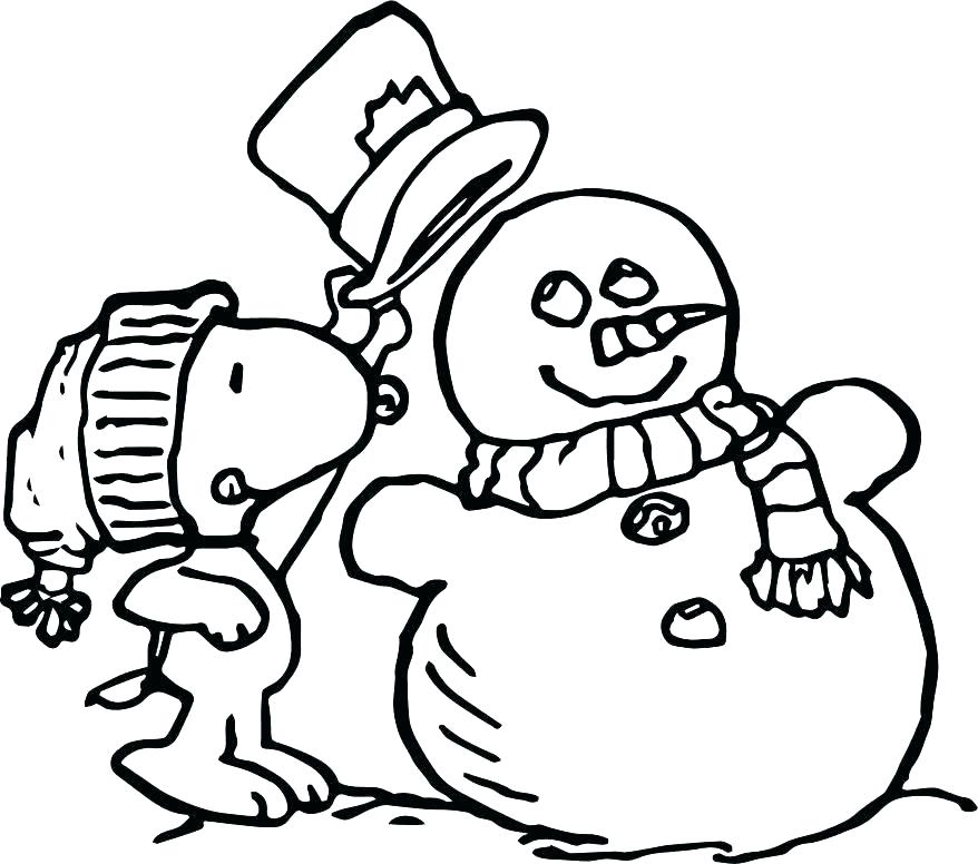 878x776 Snoopy Christmas Coloring Book Best For Images On Coloring Pages