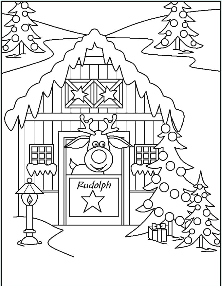 736x947 Snoopy Christmas Coloring Pages
