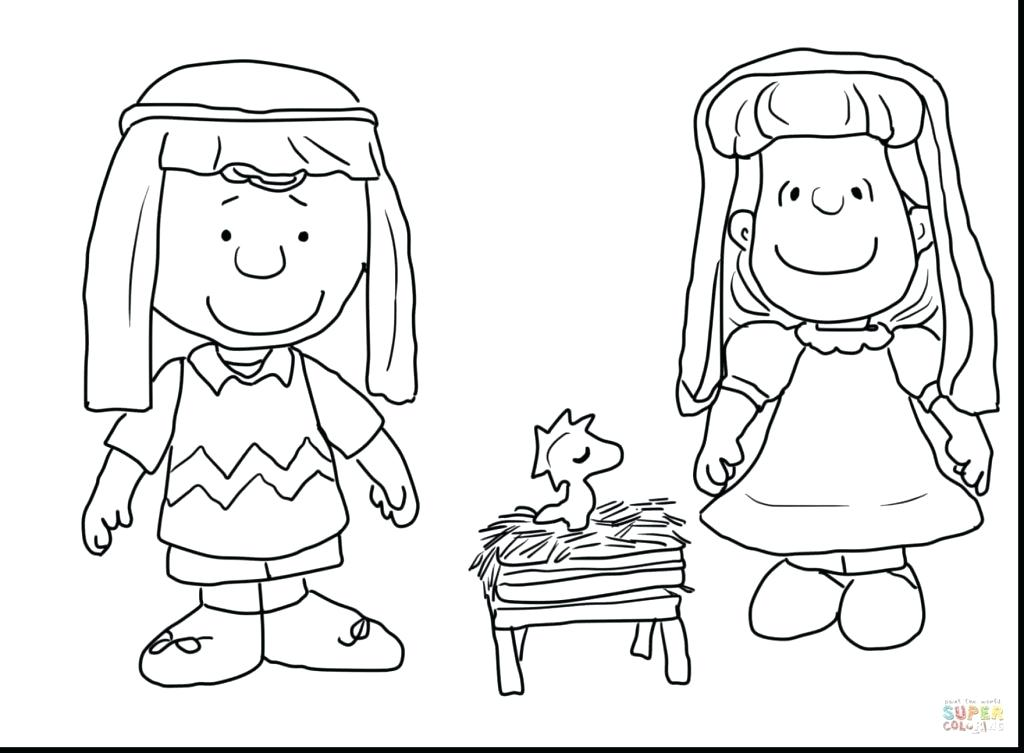 1024x753 Snoopy Christmas Coloring Pages Wesmec Site