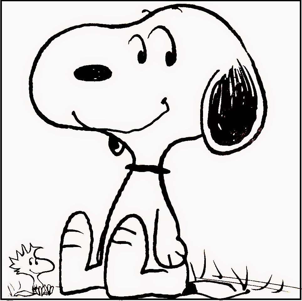 Snoopy Coloring Pages at GetDrawings.com | Free for personal ...