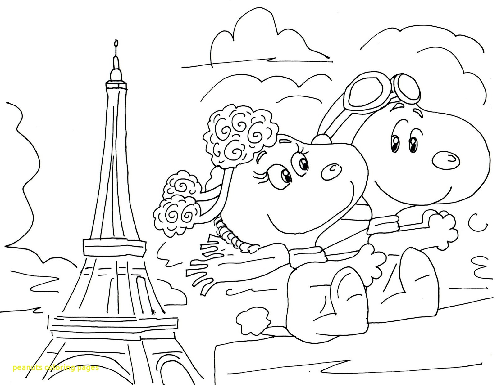 1600x1241 Odd Peanut Coloring Page Extraordinary Peanuts Gang Pages