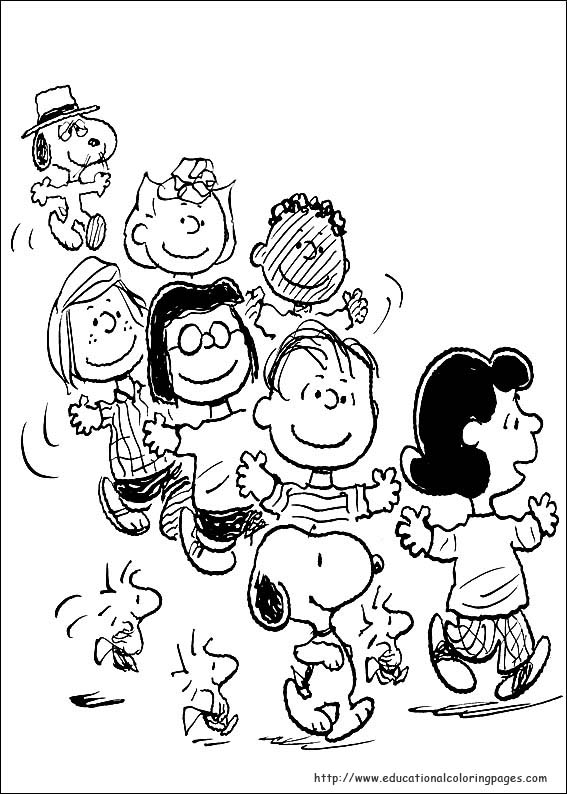 567x794 Snoopy Coloring Pages