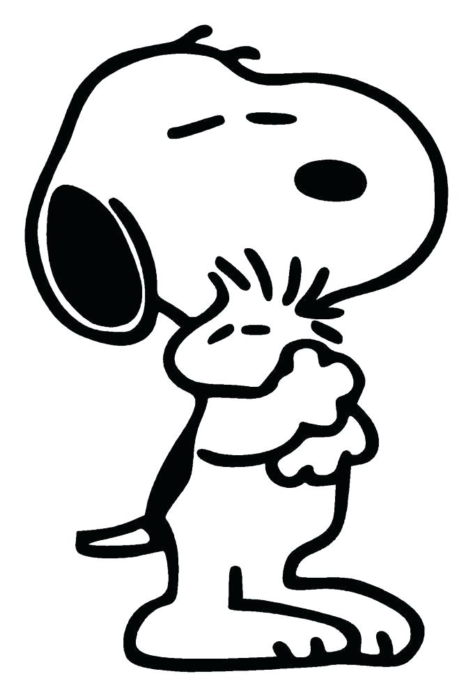 679x1000 Snoopy Coloring Pages Peanuts Coloring Pages Together With Snoopy