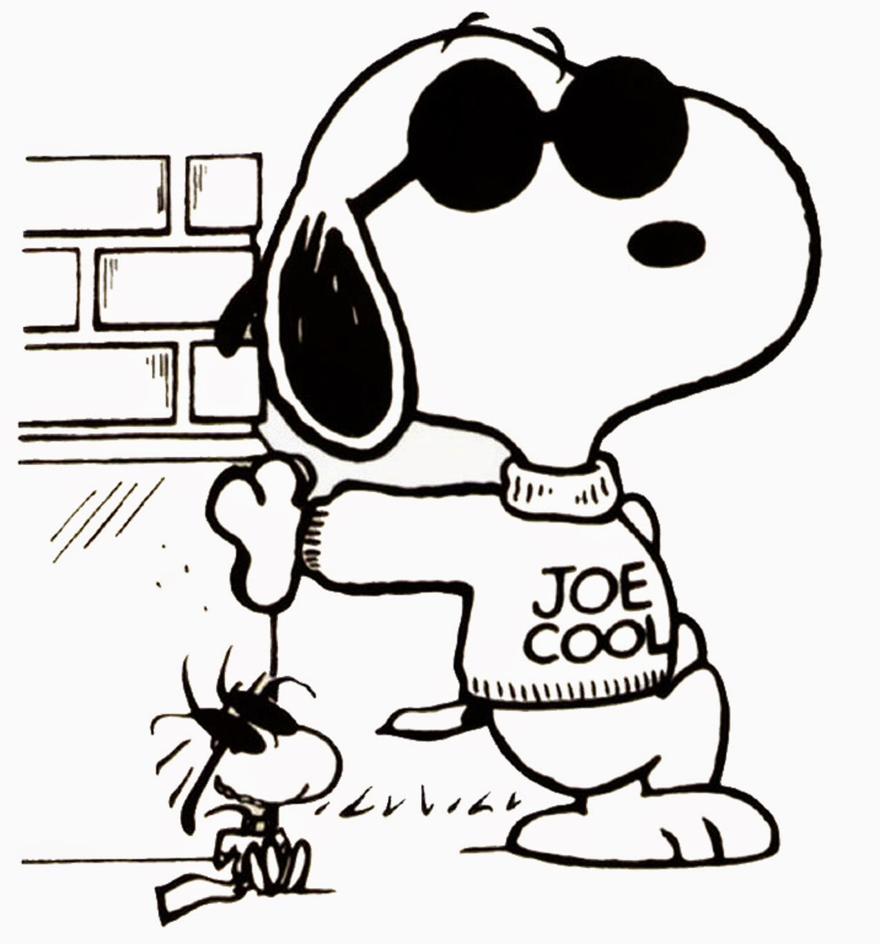 1275x1368 Snoopy Coloring Pages Cute And Lovely Images And Pictures