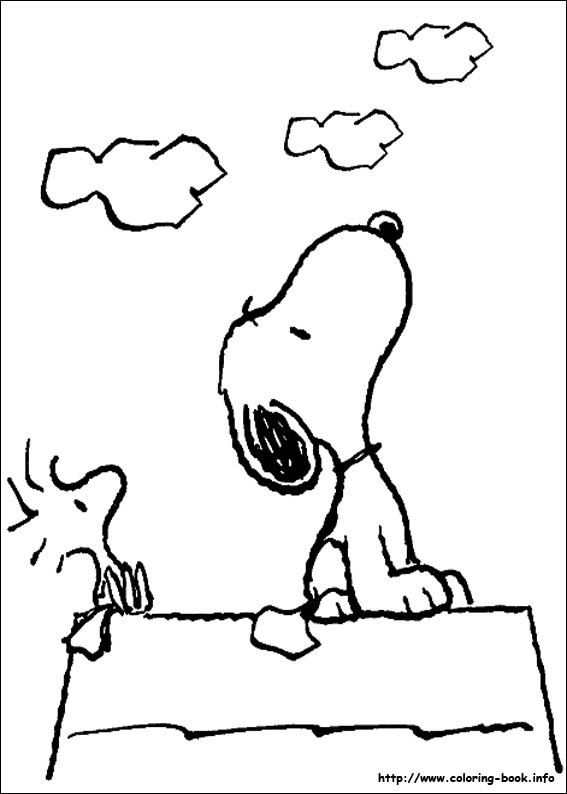 567x794 Snoopy Coloring Pages On Coloring