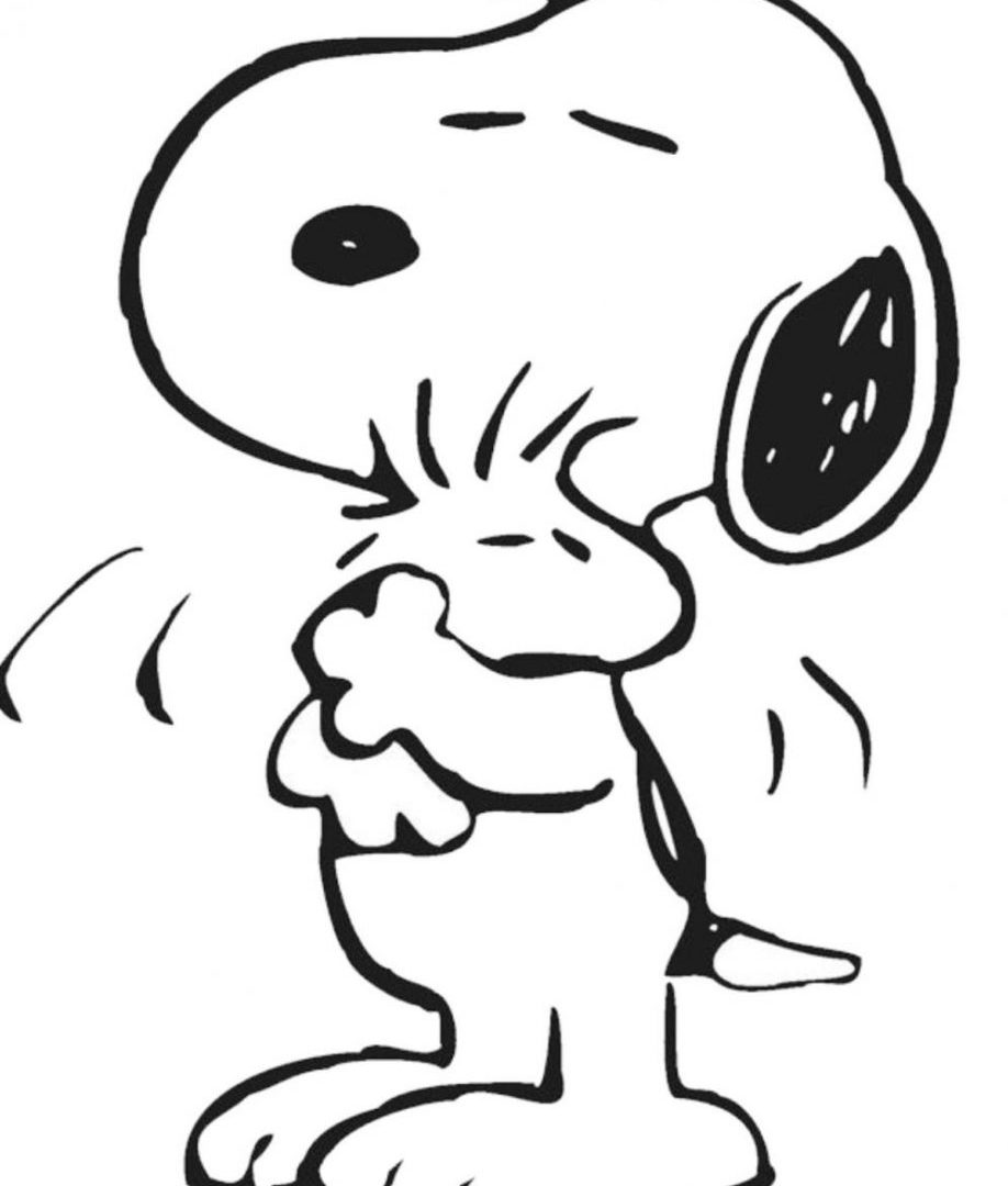 918x1080 Charlie Brown And Snoopy Peanuts Coloring Cartoon Pictures