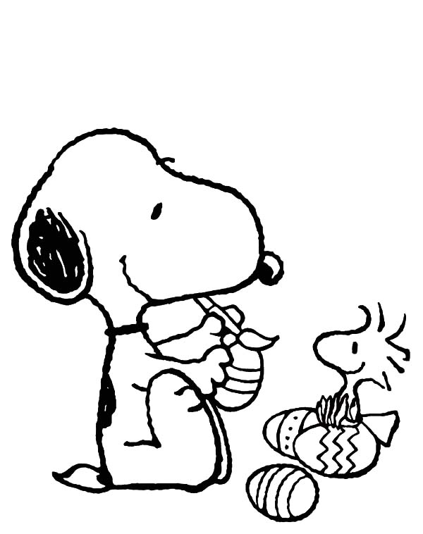 600x758 Easter Beagle Coloring Pages