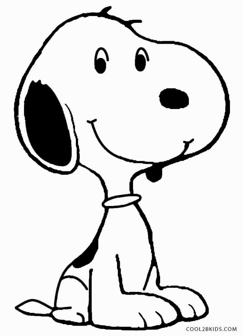 800x1106 Printable Snoopy Coloring Pages For Kids
