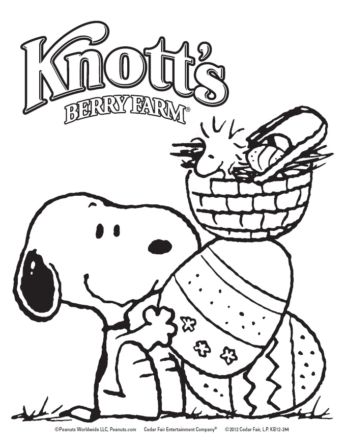 678x877 Snoopy Easter Coloring Pages