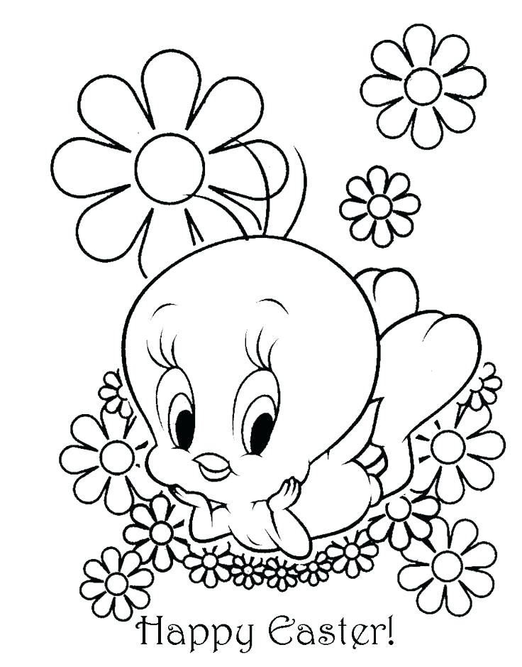 736x939 Easter Coloring Pages Printable