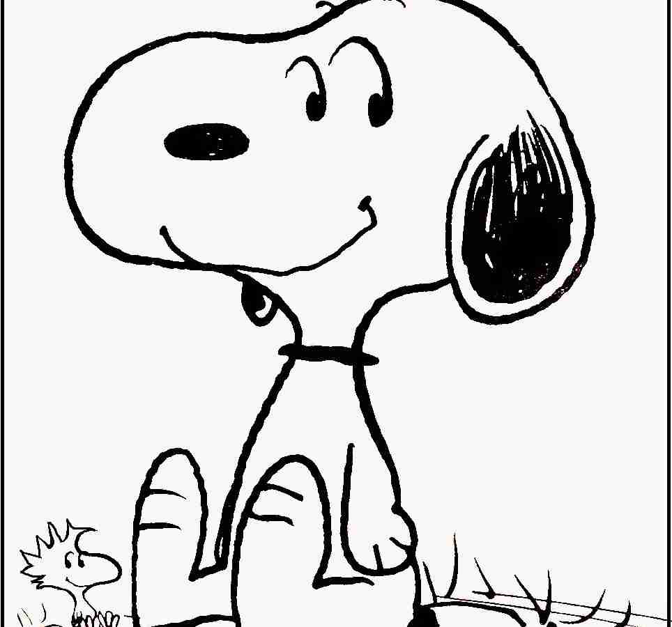 964x900 Happy Friday Snoopy Coloring Page Free Printable Pages Cartoons