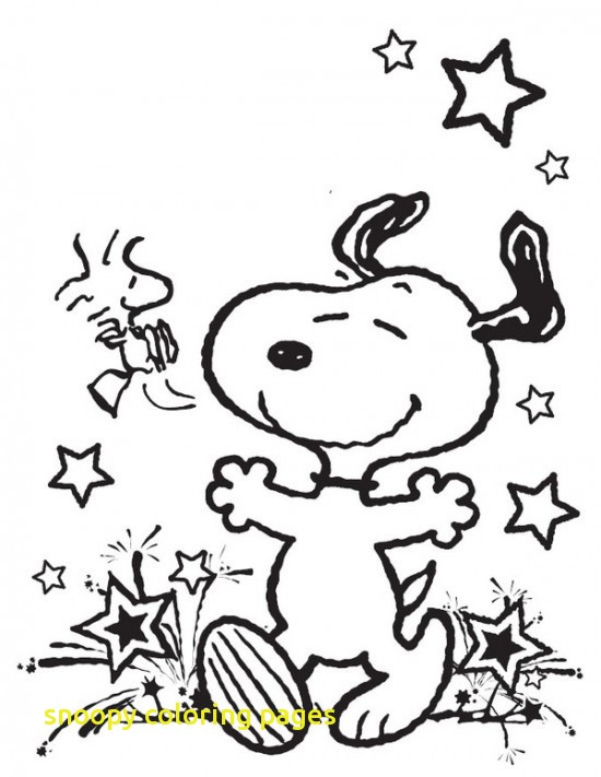 550x711 Snoopy Coloring Pages With Cartoon Snoopy Coloring Pages For Kids